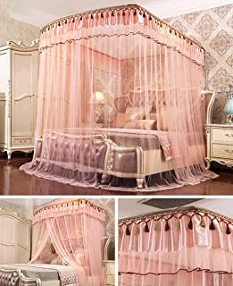 Mosquito Net for Bed Canopy, Extra Large Tent Bed Canopy for Double Single Size, Insect Screen Easy to Install, Hanging Kit
