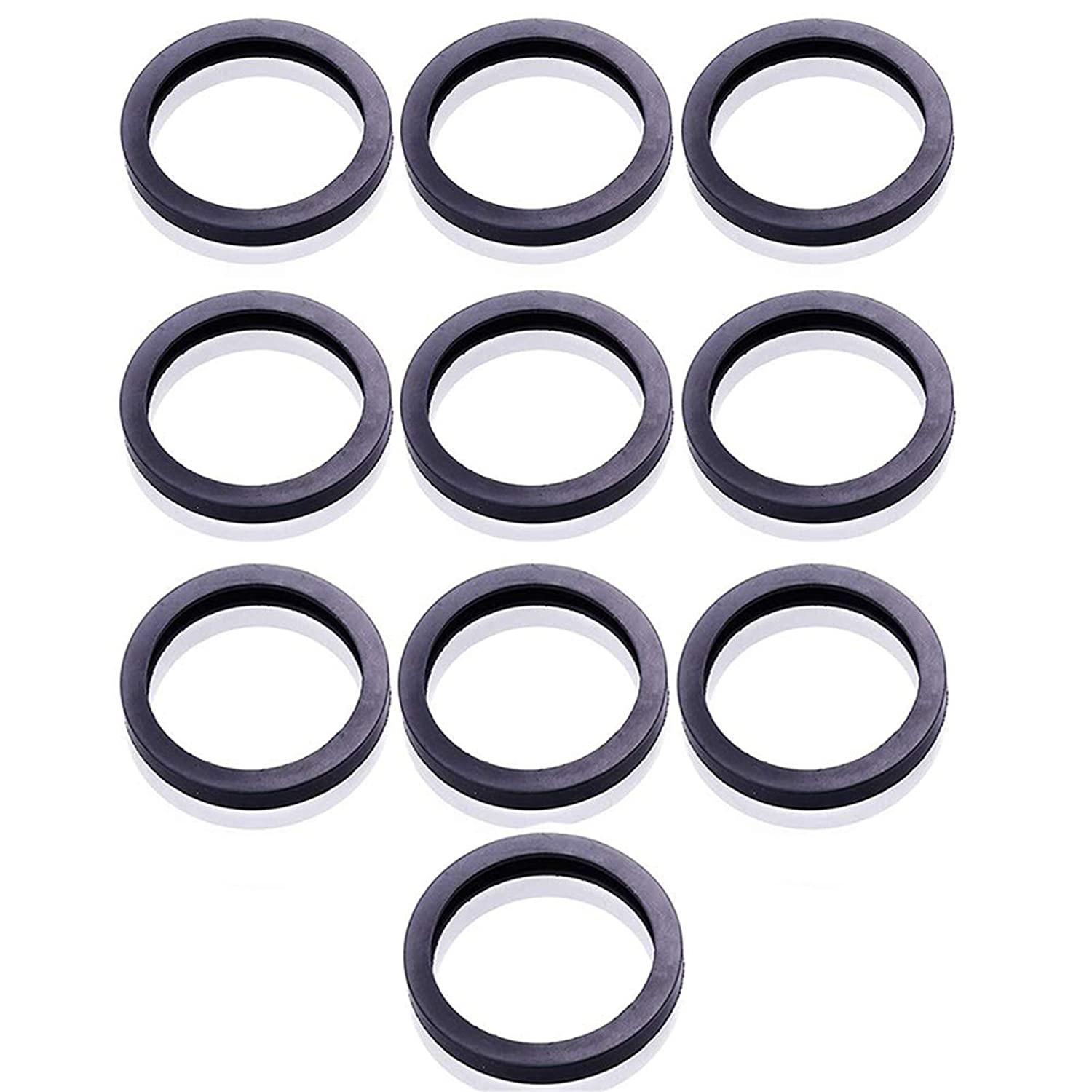 ORANDESIGNE 10Pack Gas Can New arrival Spout Max 82% OFF Ring Replacement O Gasket Unive