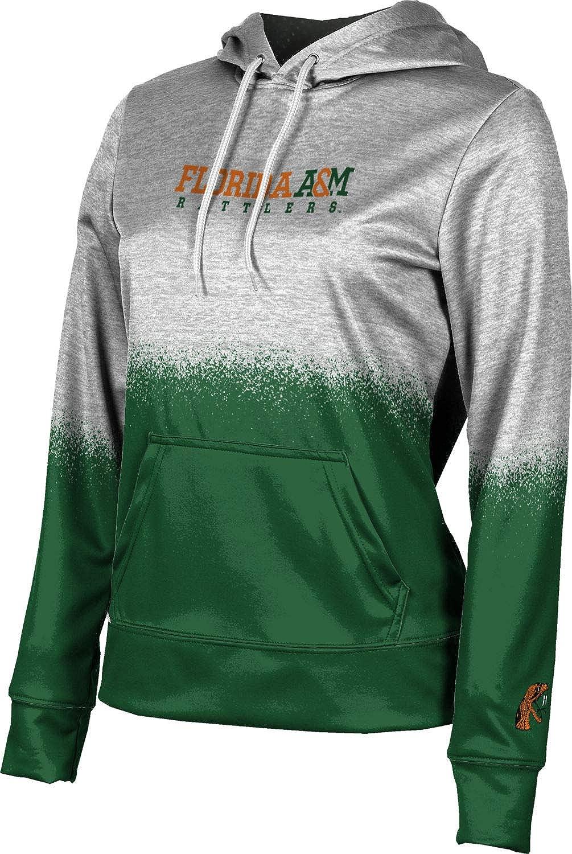 ProSphere Florida A&M University Girls' Pullover Hoodie, School Spirit Sweatshirt (Spray Over)