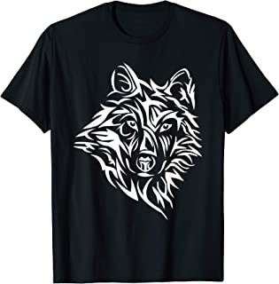 Dire Wolf Stencil Lone Northern Tribal Teen Howling Direwolf