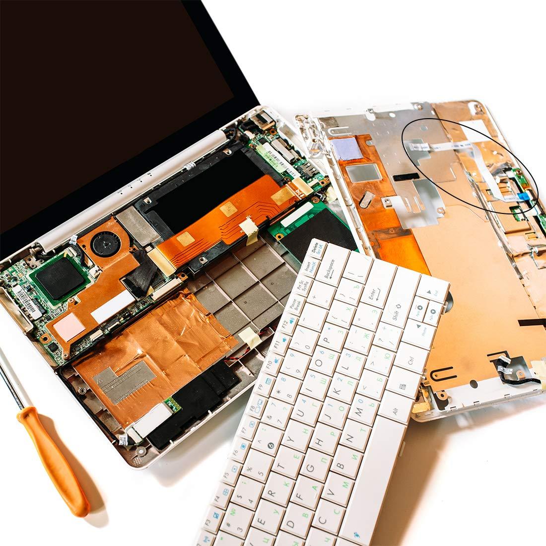 Sourcingmap - Cable plano flexible, 30 pines, 0,5 mm, 100 mm, FPC FFC, cable de cinta flexible para televisor LCD, coche, audio, reproductor de DVD y portátil (tipo A): Amazon.es: Industria, empresas y ciencia