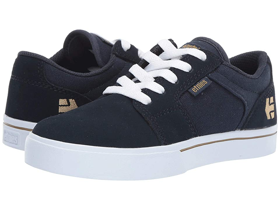etnies Kids Barge LS (Toddler/Little Kid/Big Kid) (Navy) Boys Shoes