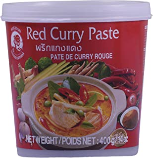 Thai World Cock Red Curry Paste, 400 gm