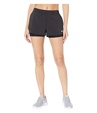 Nike Flex Shorts (Black/White) Women