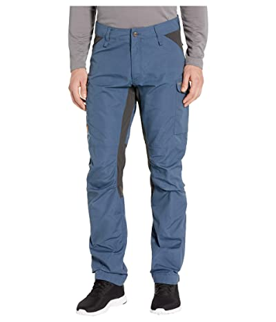 Fjallraven Kaipak Trousers (Uncle Blue/Dark Grey) Men