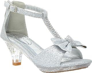 silver heels for teens