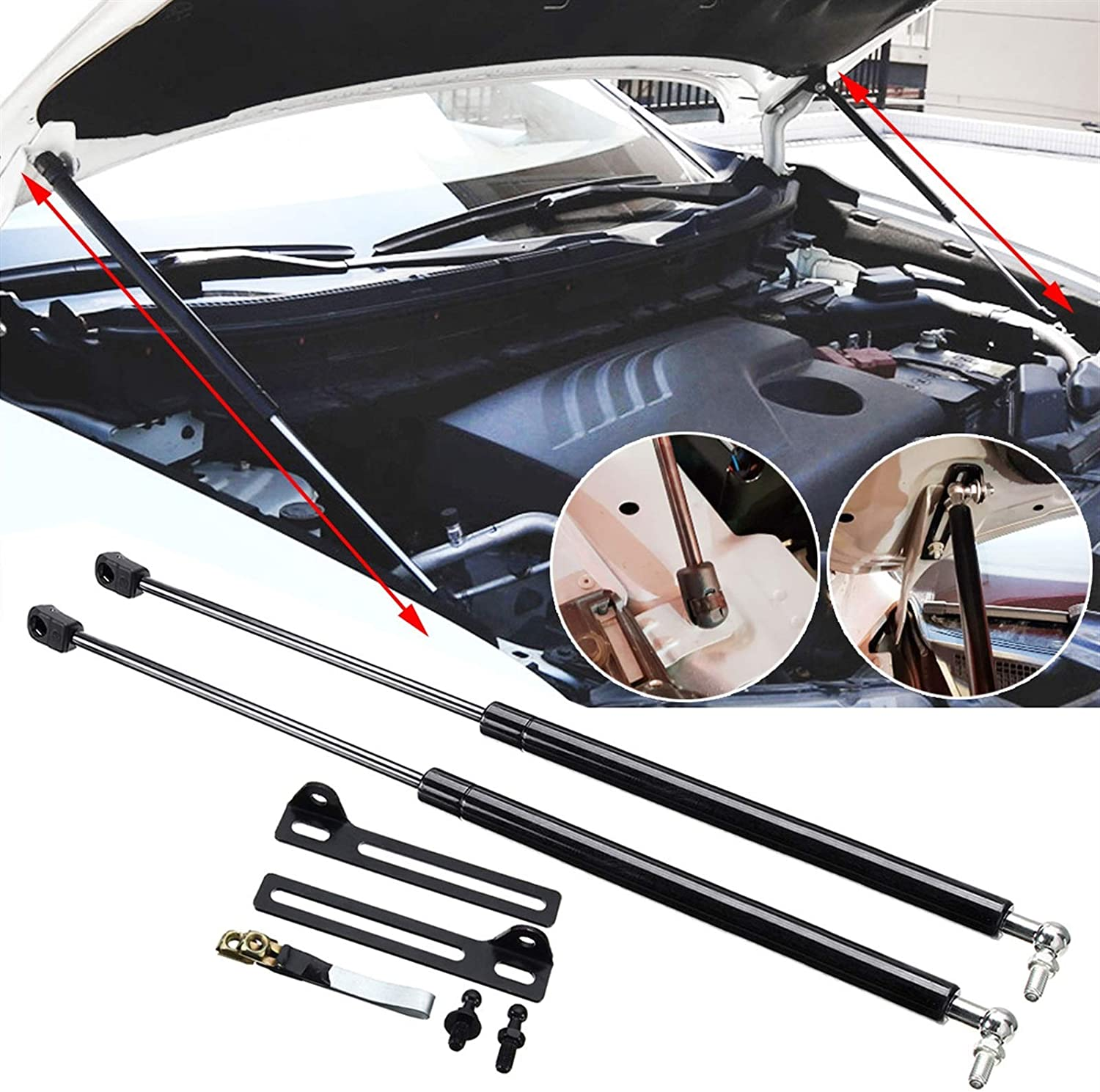 ZLLD Lift Support Struts 2pcs Hood Engine Los Angeles Mall Reservation Car Front