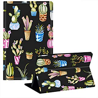 JStar Case for Kindle Paperwhite (10th Generation-2018 Release), Tropical Cactus Cacti Succulents Design Smart Cover with ...