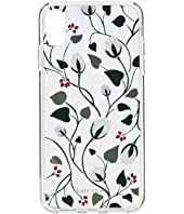 Kate Spade New York - Deco Bloom Clear Phone Case for iPhone XS Max