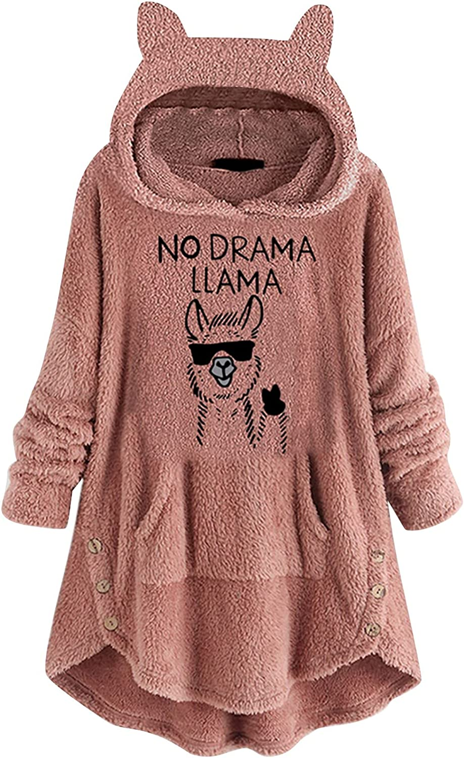 Oversized Pullover Cute Jackets Sweaters Limited price Hoodies Don't miss the campaign W Women Vintage