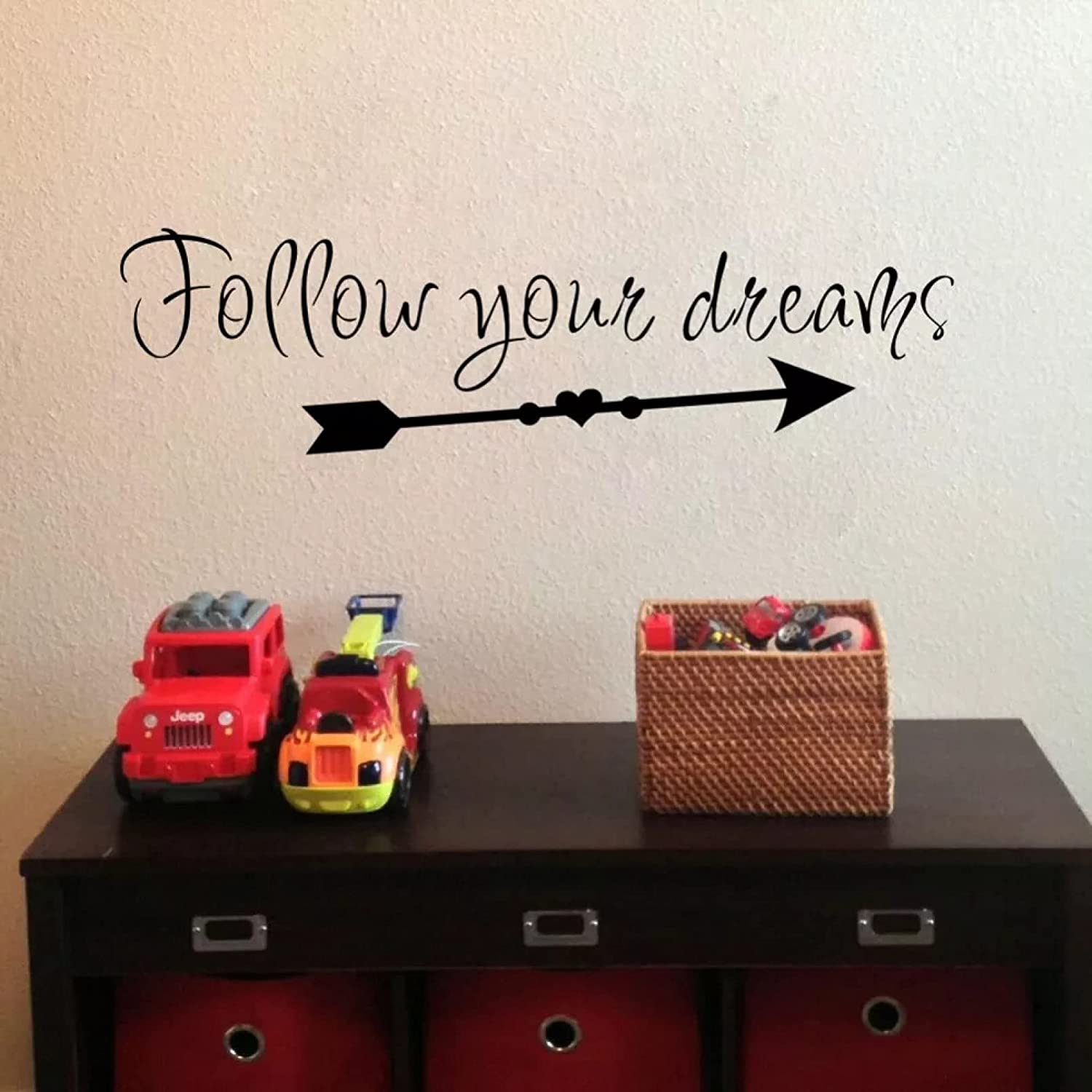 Follow Your Dream Wall Easy-to-use Sticke Lettering Sale Special Price Inspiration Sticker