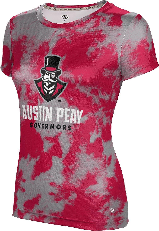 ProSphere Austin Peay State University Girls' Performance T-Shirt (Grunge)