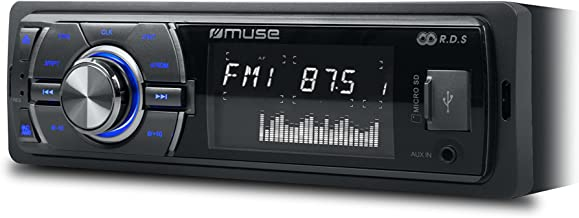 Muse M-092 MR - Autorradio (lector de MP3 y tarjetas SD/SDHC