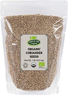 Organic Coriander Seeds 1lb by Hatton Hill Organic