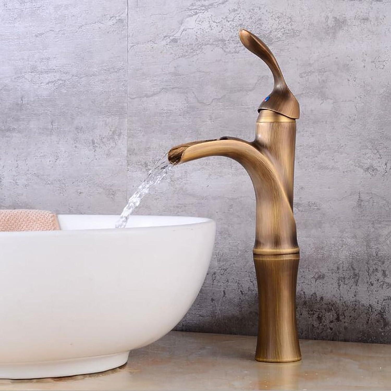 Rubinetto FANGQIAO SHOP Badarmaturen , Becken mit Wasserhahn im europischen Stil Wasser- und Kaltmischbatterie im Hotel , Kreative Retro-Armaturen