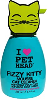 Pet Head Fizzy Kitty Strawberry Lemonade Mousse Cat Cleaner ,200 ml