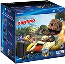 PS3 Slim 250GB Little Big Planet Karting Move Bundle (PlayStation 3)