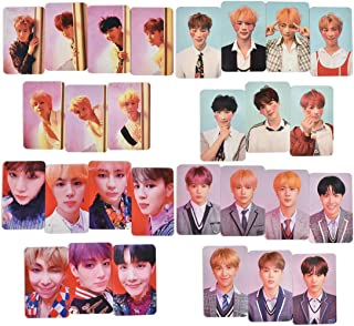 28pcs KPOP BTS Bangtan Boys J-HOPE SUGA JIM LOVE YOURSELF ? Answer Album Poster Photo Cards Autograph Photocard Set for ARMY Gifts 2.1x3.3inch