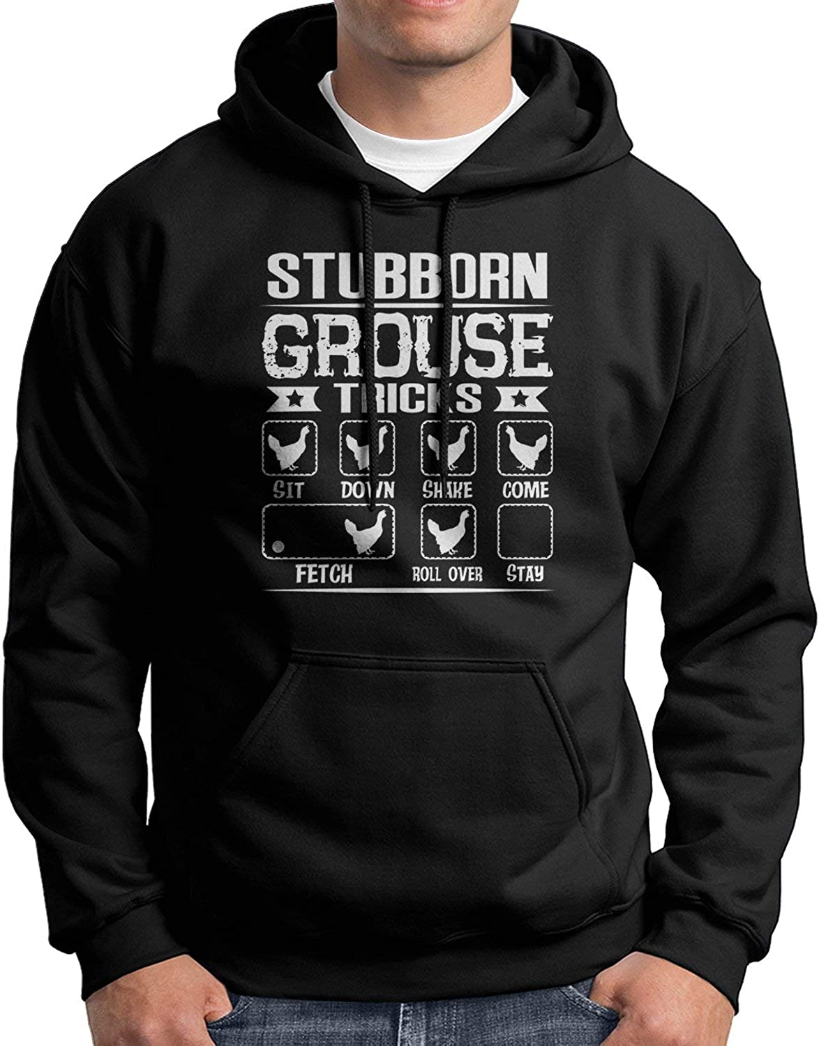 Stubborn Spring new work one after another Very popular Grouse Tricks Gift for Funny Family Gr Hoodies