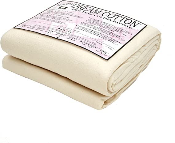 Twin, Natural All Sizes Quilters Dream Select Heavy Mid Loft Batting for Quilting