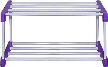 RMA Handicrafts Multipurpose Rod Rack Blue (2 Steps)