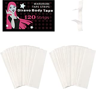 Fashion Beauty Tape Medical Quality Double Sided for Fashion and Body - Clear - 2pack-120stips