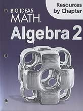 Big Ideas Math Algebra 2: Resources by Chapter