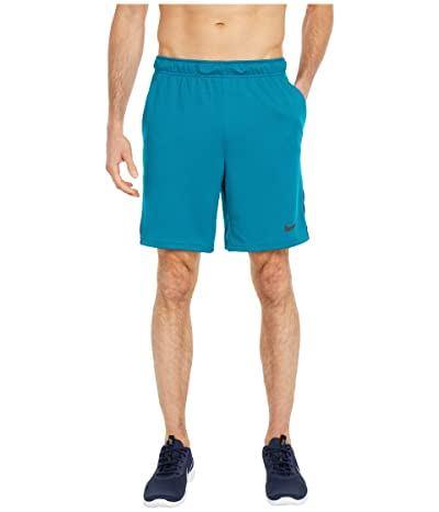 Nike Dry-FIT Knit Short 5.0 (Bright Spruce/Blue Void/Black) Men