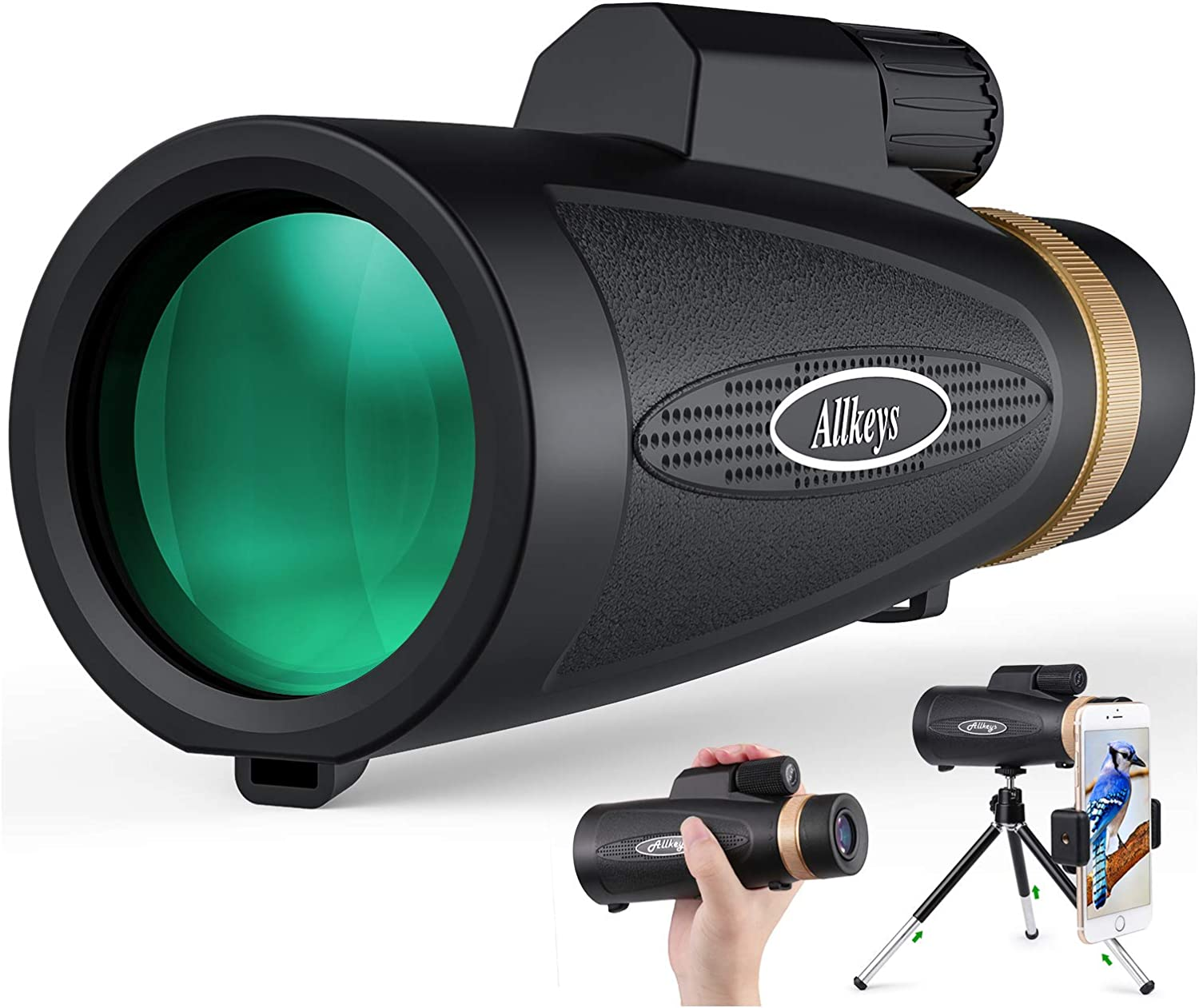 Allkeys 16x55 High Definition Monocular Beauty products and Smar Quick Telescope Limited time sale
