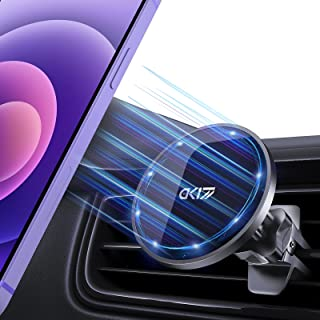 Magnetic Car Mount 360° Rotation Strong Magnetic Vent Clip&Dashboard Car Holder for Car Fit for iPhone 12/ 12 pro/ 12 pro ...