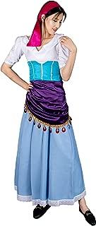 Adult Women Dacing Ball Gown Dress Halloween Light Blue