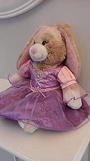 Build A Bear Workshop * 16 in. Tan Swirl Bunny * Rabbit with Eyelashes