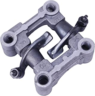 Glixal ATMT1-096 GY6 139QMB 139QMA Scooter Moped ATV Camshaft Seat Holder Rocker Arms Assy GY6 49cc 50cc Engine (For 64mm Valve Length)