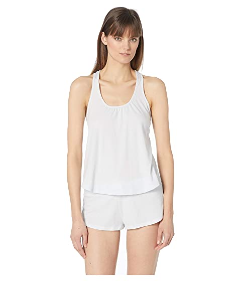 Eberjey Heather - Shelf Bra Racerback Cami