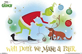 Trends International Grinch-Warm Hearted Wall Poster, 22.375