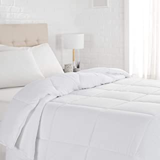 AmazonBasics Down Alternative Comforter, Single (64 x 88 Inches)