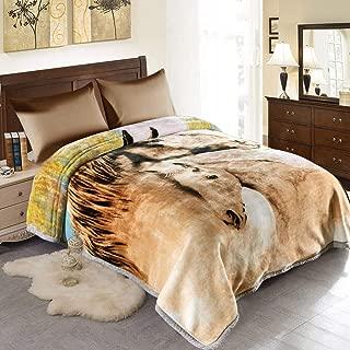 JML Fleece Blanket, Plush Blanket King Size 85
