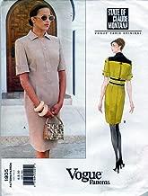 Vogue Sewing Pattern 1935 ©1997 Misses' Claude Montana Dress, Size 6-8-10