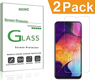 Bundle of 2, RKINC forSamsung Galaxy M20Screen Protector, Crystal Clear Tempered Glass Screen Protector [9H Hardness][2.5D Edge][0.33mm Thickness][Scratch Resist] forSamsung Galaxy M20