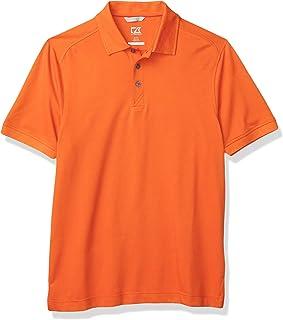Cutter & Buck Men's 35+UPF, Short Sleeve Cotton+ Advantage Polo Shirt