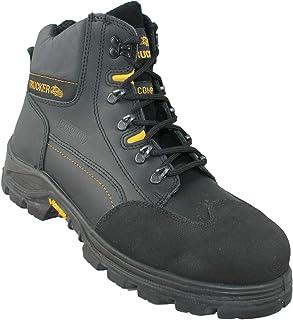 Zapatos de Seguridad aimont Revenger S3 HRO SRC Zapatos de Escalada Zapatos de Negro Funcionan