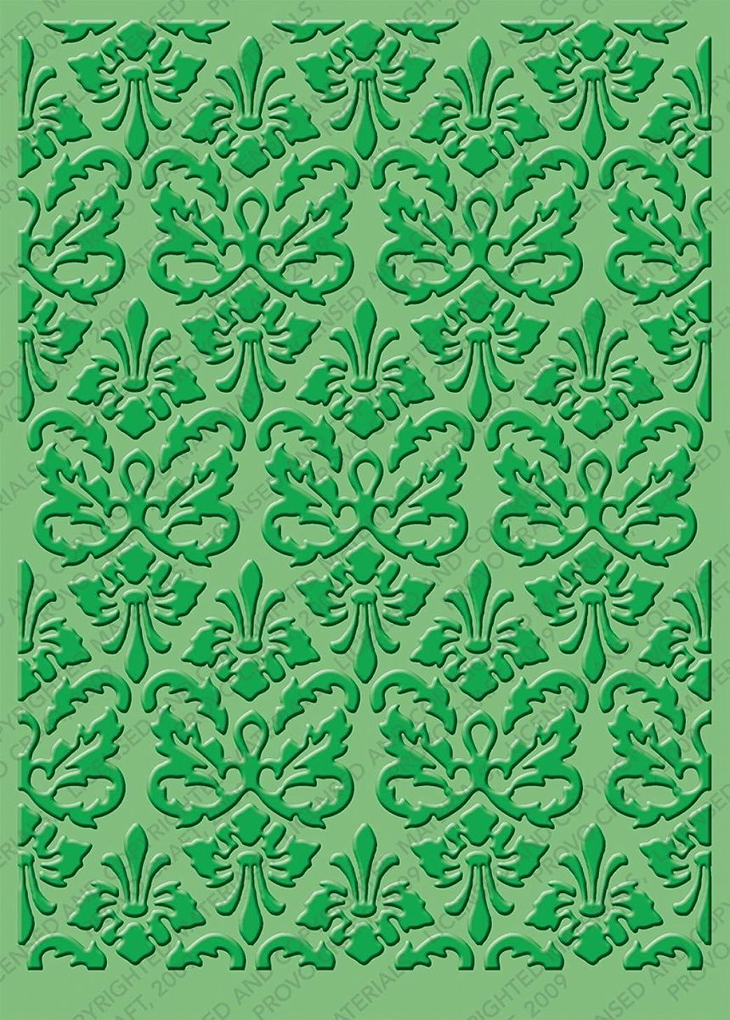 Cuttlebug 5-Inch-by-7-Inch Embossing Folder, Kassie's Brocade
