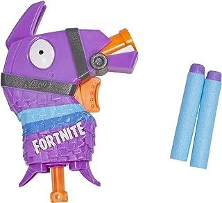 Fortnite Llama Nerf MicroShots Dart-Firing Toy Blaster and 2 Official Nerf Elite Darts