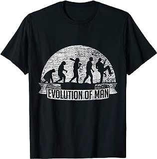 Evolution Guitar T-Shirt Vintage Men