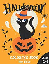 Halloween Coloring Book For Kids Ages 2-4: Happy Halloween Coloring Book for Toddlers and Preschool   A Fun Children Coloring book for Halloween   … gift for Boys and Girls Ages 2-4 / 4-6 PDF