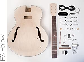 DIY Electric Guitar Kit - Hollow Body Build Your Own Guitar Kit - ES