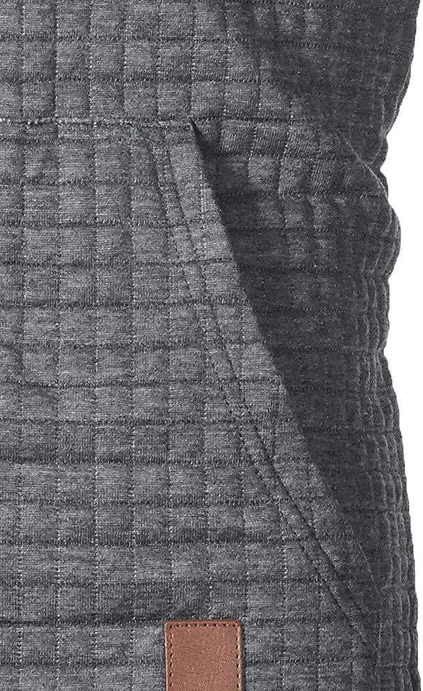 Cookinty Men's Hoodies Drawstring PocketSweatshirt Long Sleeve Athletic Pullover Men's Simple Hooded Tops
