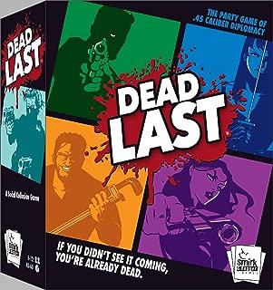 Smirk & Dagger Dead Last Card Game