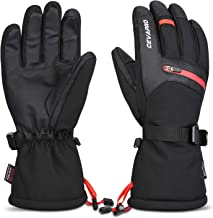 Yobenki -40℉ Ski Gloves Waterproof Winter Gloves Snowboarding Gloves 3M Thinsulate