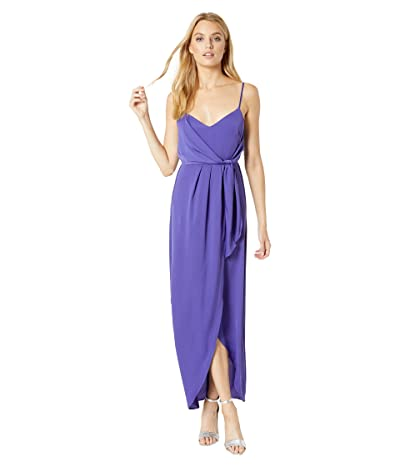 BCBGeneration The Wrap Maxi Dress YQG6242159 (Blueberry) Women